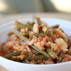 "One-Pot Italian ""Potatoes"" & Green Beans"