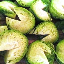 Pac-Man Brussels Sprouts
