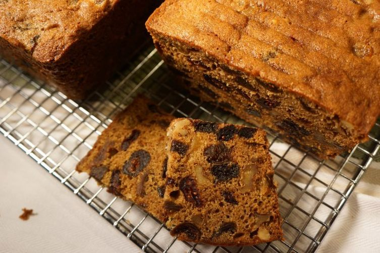 Banana, Bourbon Fruitcake