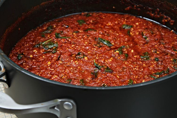 Classic heirloom tomato sauce