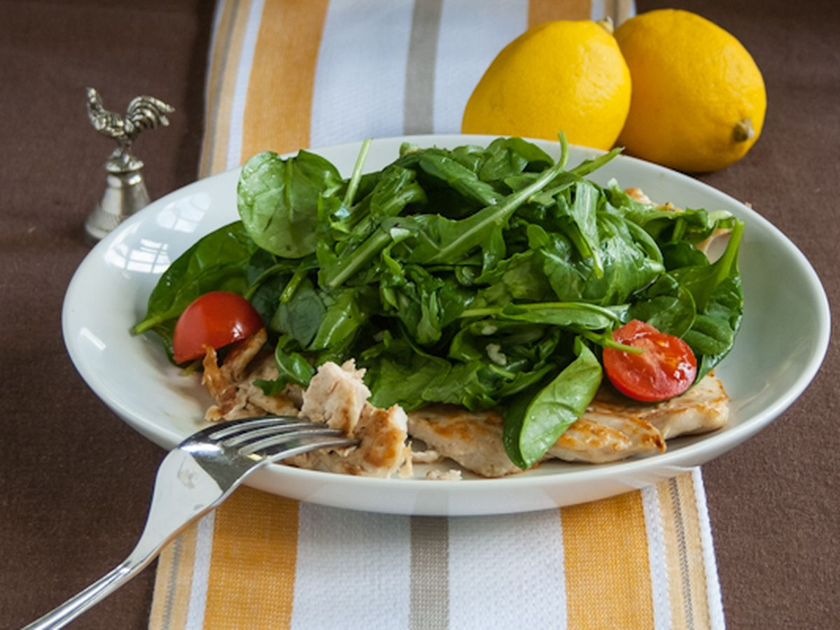 Chicken Paillard With Lemon Salad Recipe On Food52