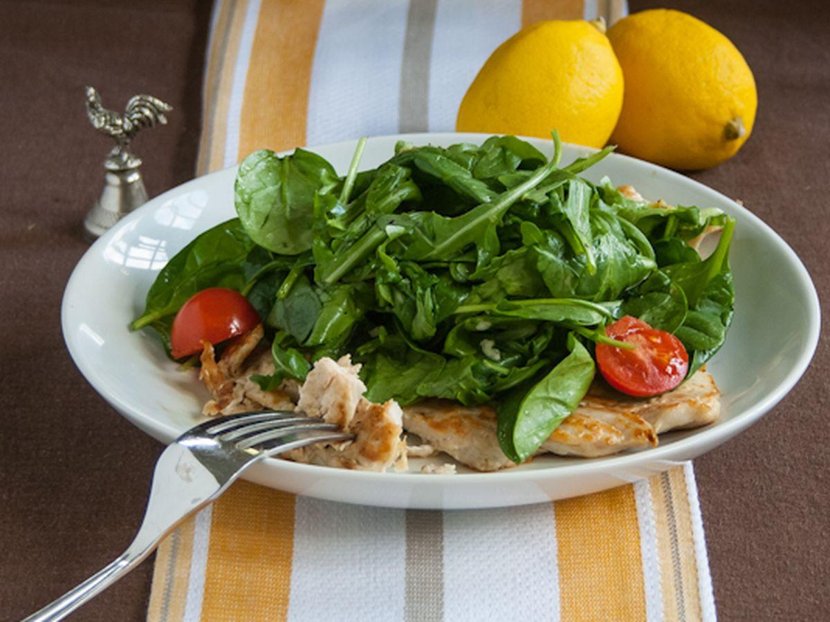 Chicken Paillard With Lemon Salad Recipe On Food52