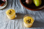 Passion Fruit and Mango-Mint Lassi