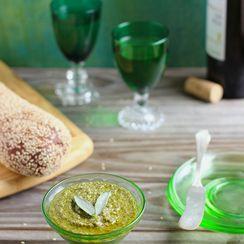 Sage and Toasted Walnut Pesto
