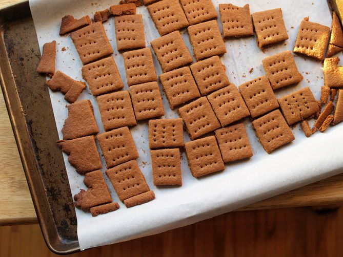 Chocolate-Covered Graham Crackers on Food52
