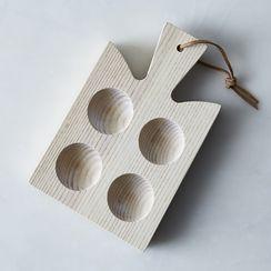 Handcrafted Araucana Egg Board