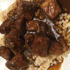Pork Loin In Date Sauce