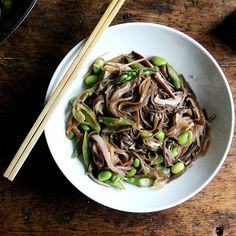 Not Exactly Chow Mein, But Exactly What You Want for Dinner