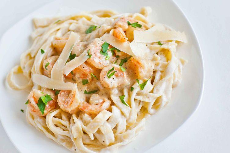 Fettuccine Shrimp