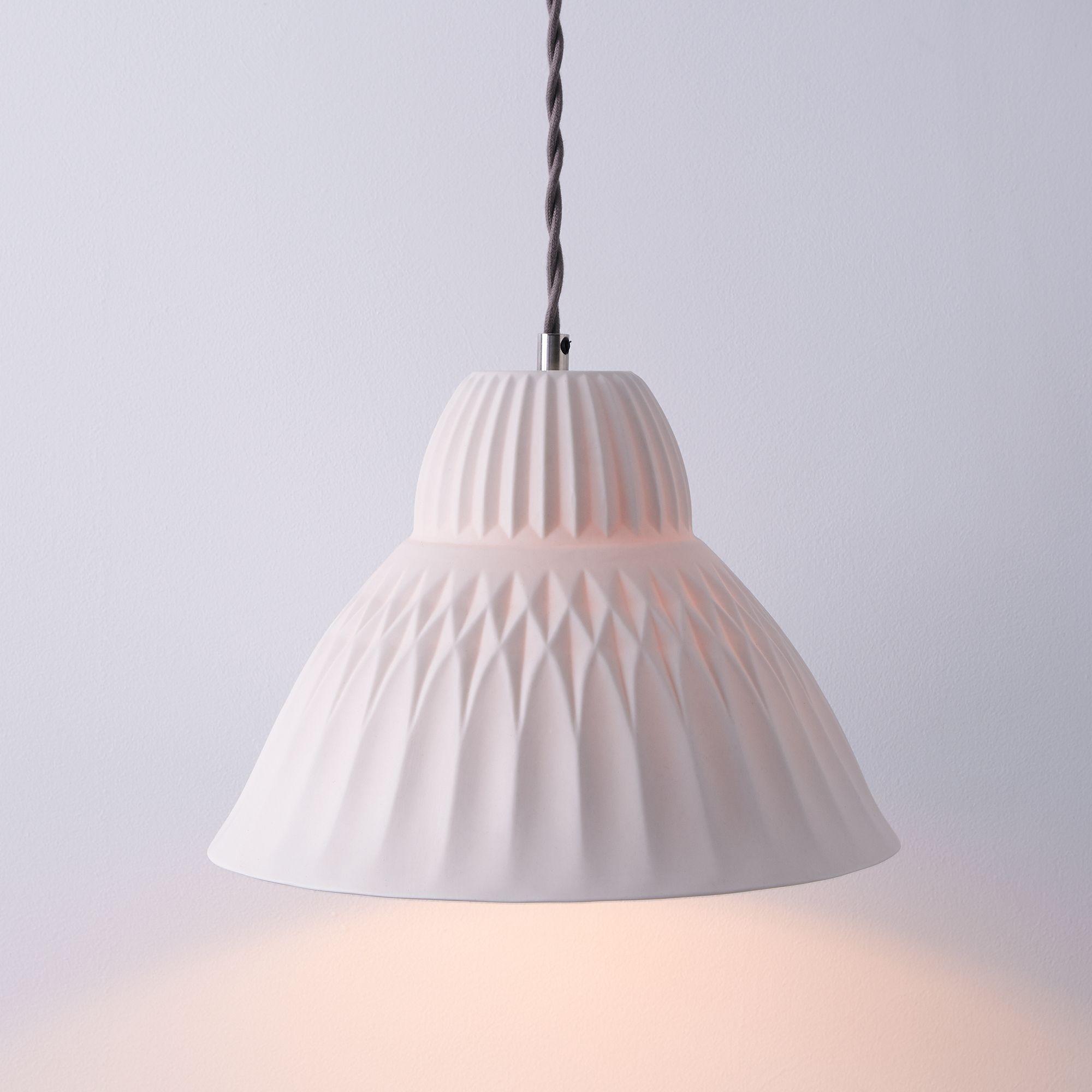 Sofia porcelain pendant light on food52 aloadofball Choice Image