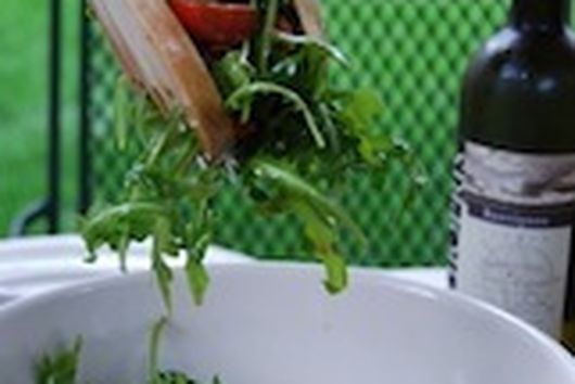 Arugula and Cherry Tomato Salad