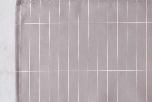 Grid Tile Shower Curtain