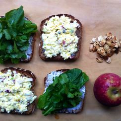 A New Kind of Egg Salad Sandwich