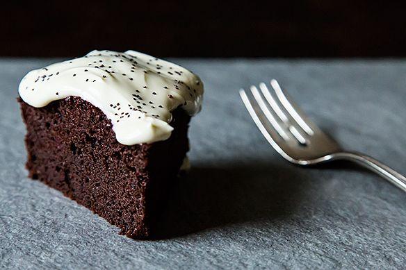 chocolate beet cake from Nigel Slater