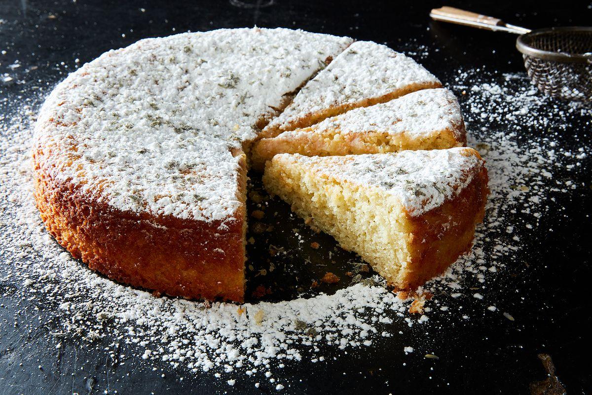 Lavender Lemon Honey Cake