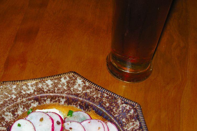 Abendbrot mit Rettich