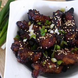 Honey Ginger Chicken Wings