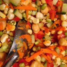 Bean Salad with Indian Tadka