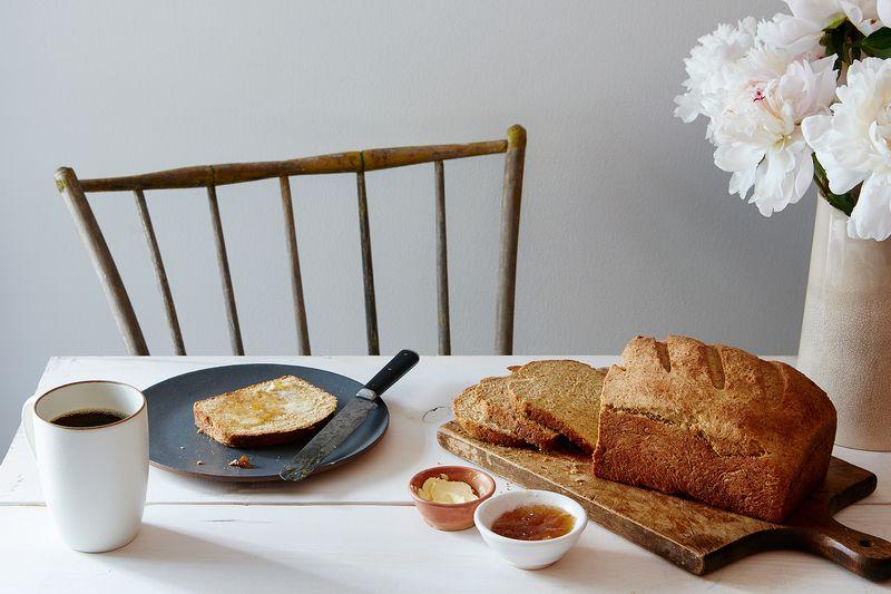 Ricotta Whey and Barley Bread