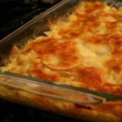 Cauliflower and Potatoes Au Gratin