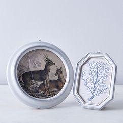Tin Glazed Ceramic Picture Frames