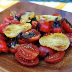 Ginger Miso Tomato Salad