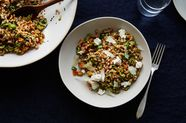 Dinner Tonight: Heidi Swanson's Olive and Farro Salad