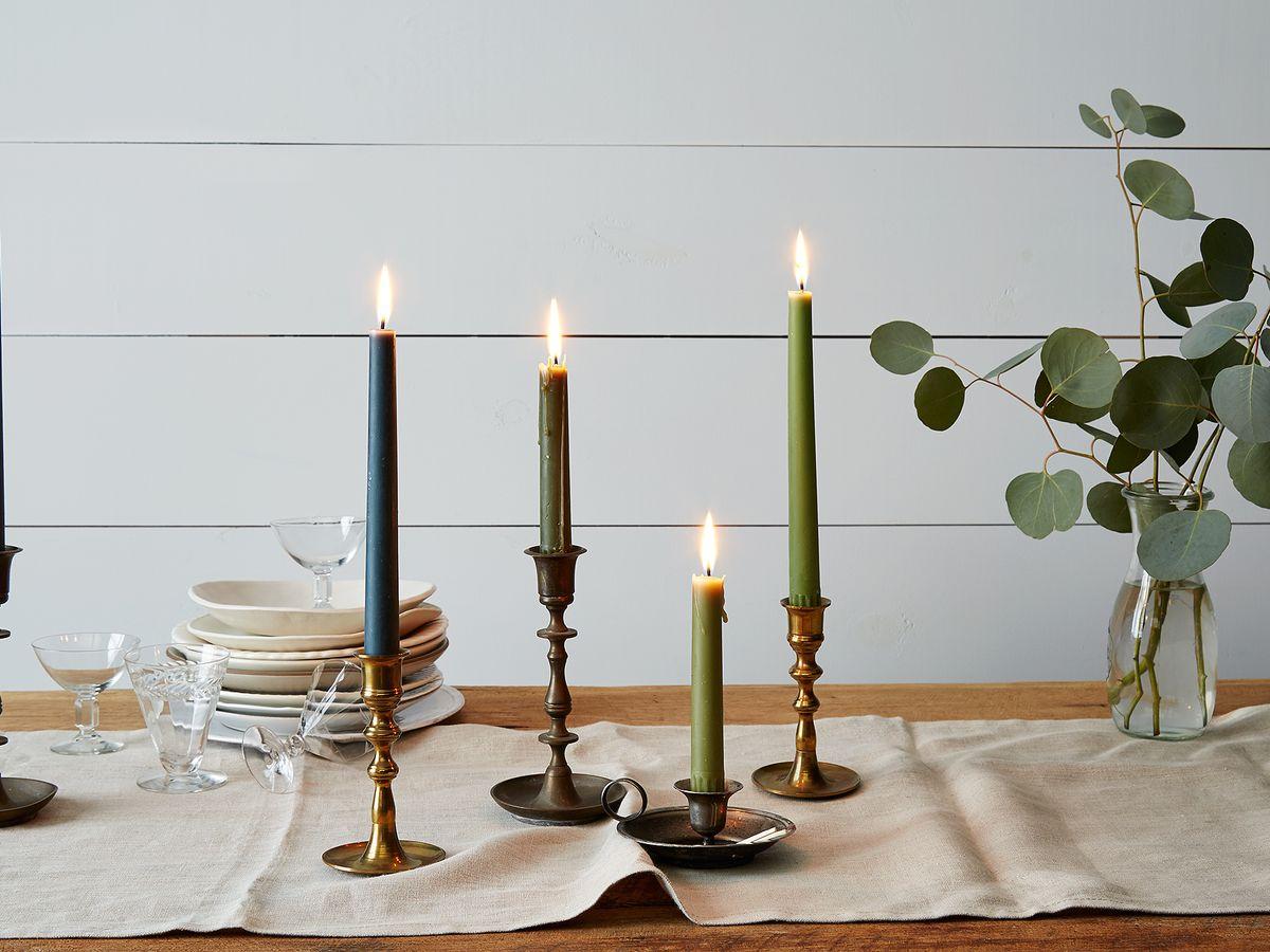 Springtime Candles Styled 4 Ways