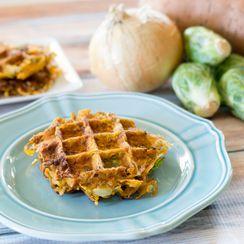 Sweet Potato Waffle Hash Browns
