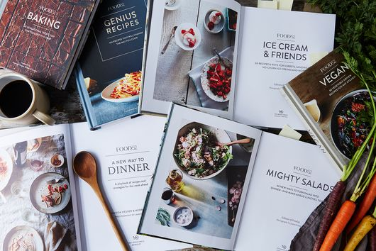 11 Clever Ways to Store Your Many, Many Cookbooks