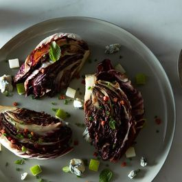 Charred Radicchio Wedge Salad