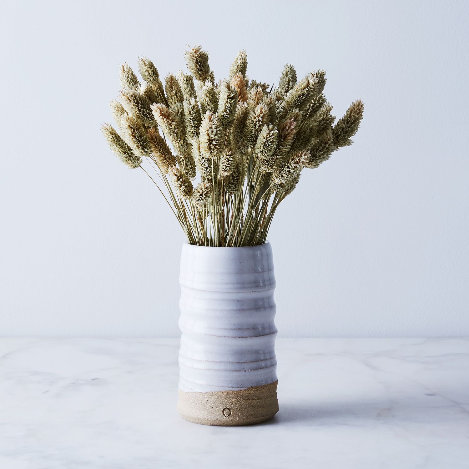 Handmade Ceramic Vase Amp Dried Floral Arrangement On Food52
