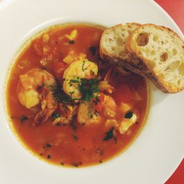 Cioppino-Style Soup with Shrimp and Cod