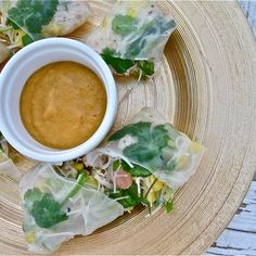 Cambodian-Style Spring Rolls