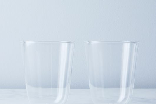 Italian Glass Party Tumblers (Set of 2)