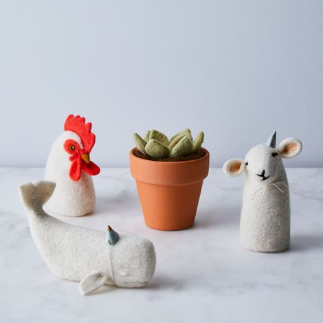 DIY Felted Animal & Plant Kits
