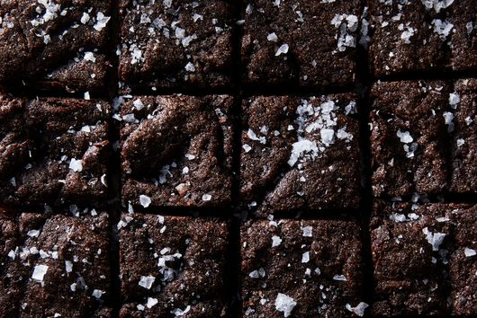 Triple-Chocolate Olive Oil Brownies