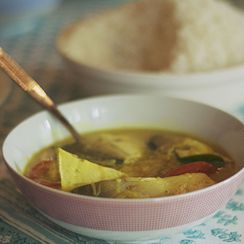 Meen Moiley, A Traditional Indian Fish Stew