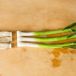 How to Prep Spring Onions