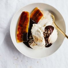 For a Next-Level Hot Fudge Sundae, Add Flaky Salt