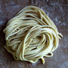 Vegan Fresh Pasta Dough.
