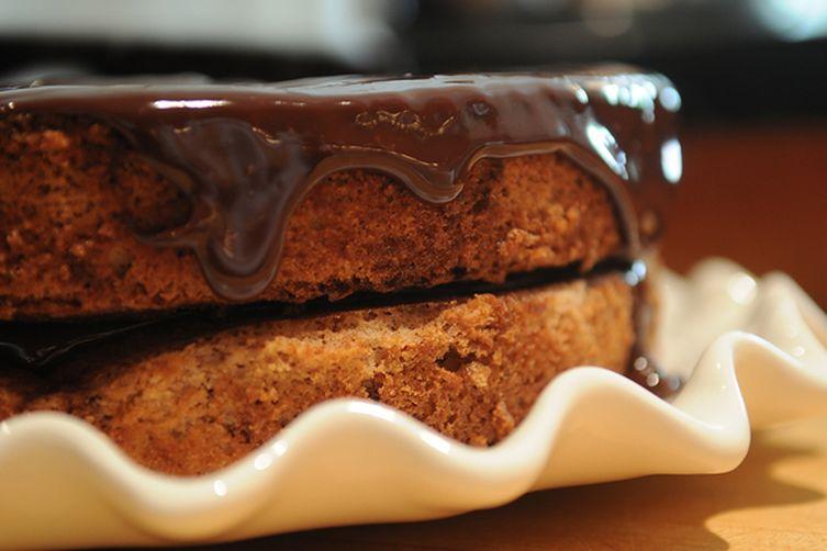 Not Red Velvet Cake with Fudge Glaze Recipe on Food52