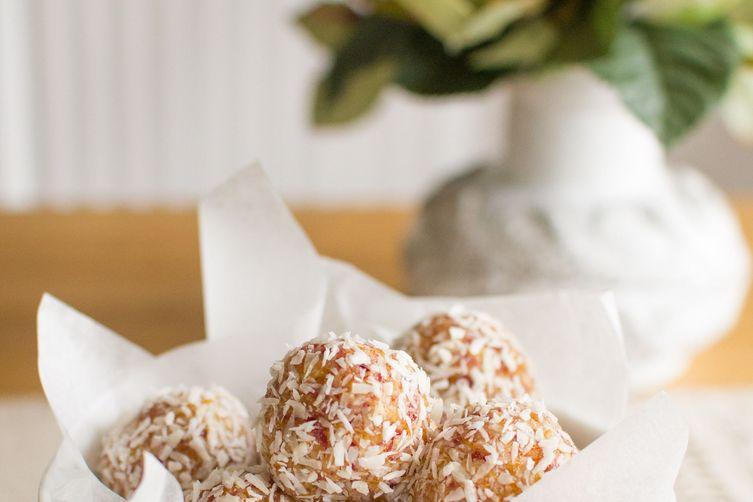 Apricot, Cranberry & Coconut Balls