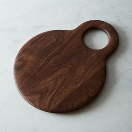 Hole Slab Pico Serving Board, Walnut