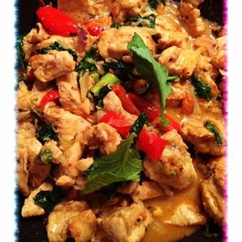 Thai-Indian Chicken and Veggie Stir Fry Curry