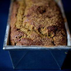 Ginger Molasses Pumpkin Bread
