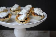 Chocolate Peppermint Phyllo Tarts