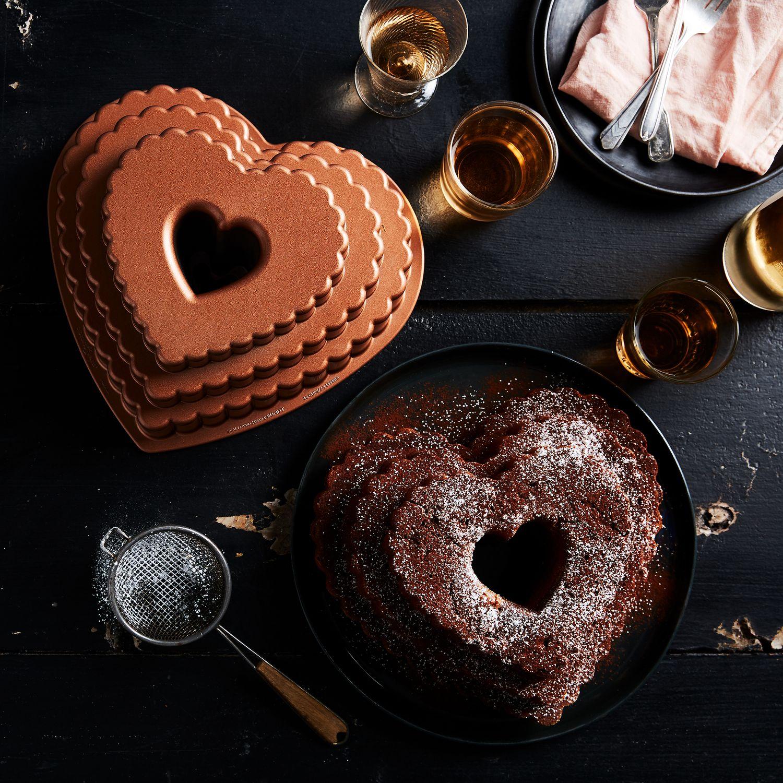 Nordic Ware Tiered Heart Bundt Pan On Food52