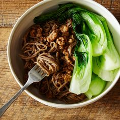 Smoked Tea Black Bean Noodles with Pork