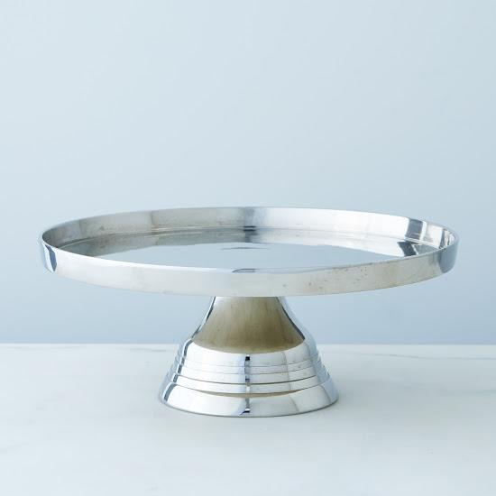 Silver Plated Cake Stand Acme Party Box